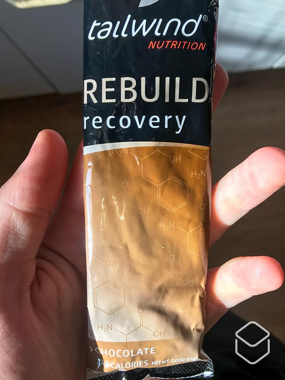 cobbles voeding tailwind nutrition review rebuild chocolate flavour
